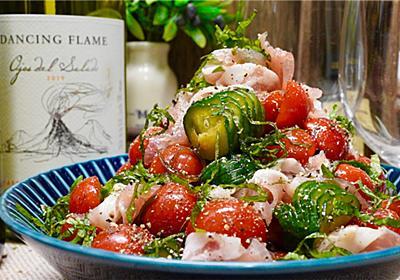 【レシピ】トマトときゅうりのにんにくポン酢漬け - しにゃごはん blog
