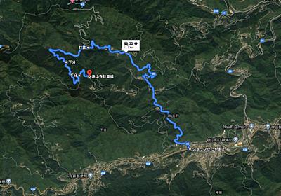 徳島県の険道43号を走って 四国八十八ヶ所 焼山寺までのルート【通称・へんろころがし】 - Shige blog
