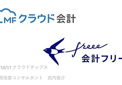 MFクラウドとfreee - Speaker Deck