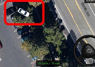 Googleマップ上で走り屋となり車や大型バスであらゆる場所を爆走できる「2D自動車シミュレーター」 - GIGAZINE