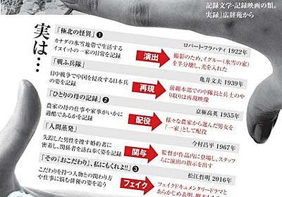 ドキュメンタリー、実は虚構? 名作に再現や再撮影も:朝日新聞デジタル