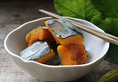 かぼちゃの煮物はフライパンで作ると失敗しない! - 今日、なに食べよう?〜有機野菜の畑から~