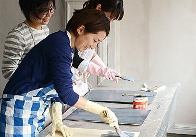 マグネットペイントでDIY、磁石になるペンキの塗り方のポイント - 北欧、暮らしの道具店