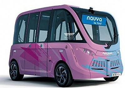 ハンドルのない自律走行バス、羽田イノベーションシティで定常運行 | レスポンス(Response.jp)