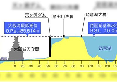 「琵琶湖の水止めたろかは滋賀県民の優しさ」関西人10人に10人が驚くという画像がこちら - Togetter
