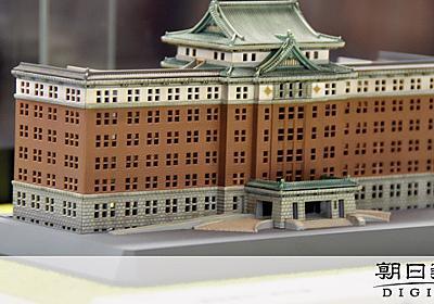 愛知)ジブリ作品や愛知県庁 図書館で精巧な模型展示:朝日新聞デジタル