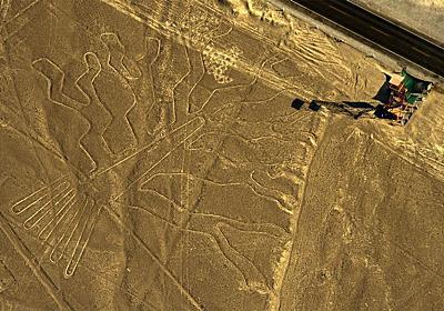 ナスカの地上絵にトラック侵入、絶えない損傷   ナショナルジオグラフィック日本版サイト