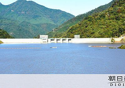 八ツ場ダム、一昼夜でほぼ満水 試験貯水中に突然の変貌 [台風19号]:朝日新聞デジタル