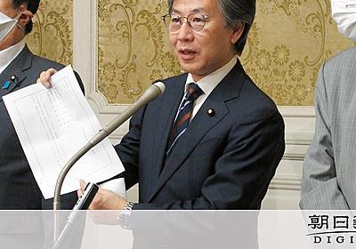 臨時国会要求に政府が回答 野党「開いた口ふさがらない」:朝日新聞デジタル