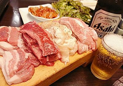 4種類・600gの肉が1580円で食べられて野菜おかわり自由という韓国料理マニトの「赤字セット」を食べてみた - GIGAZINE