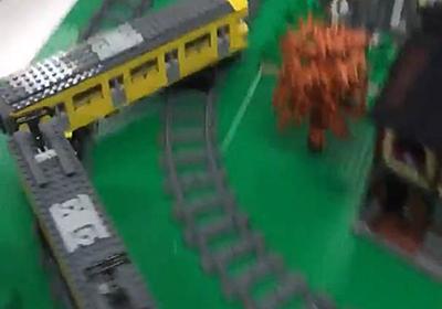 すげぇぇぇ! 伝説の技は実在していた あの電車でDの「複線ドリフト」をレゴを使って完全再現 - ねとらぼ