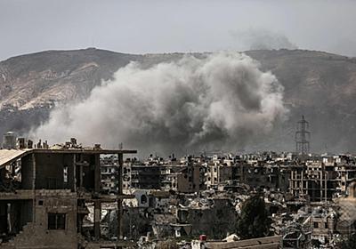 シリア首都で反体制派が奇襲攻撃 政府側は空爆などで応酬 写真8枚 国際ニュース:AFPBB News