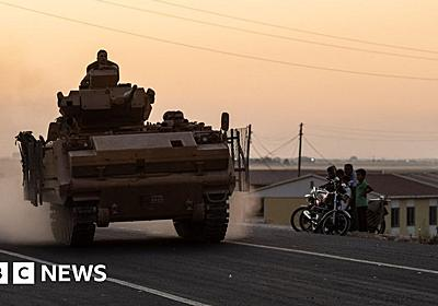 US says it did not approve Turkey's Syria offensive - BBC News