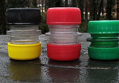 【DIY】ペットボトルのキャップと飲み口をつなげて作る防水小物入れ | shave off mind