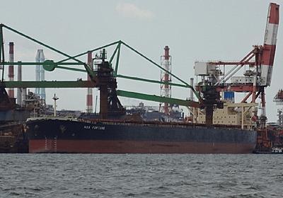 ケープサイズバルカーNSS FORTUNE - SHIPS OF THE PORT