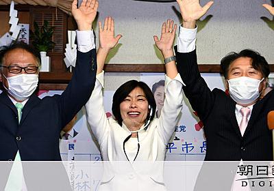 小平市長選、自民系候補が敗北 丸川五輪相らも応援:朝日新聞デジタル
