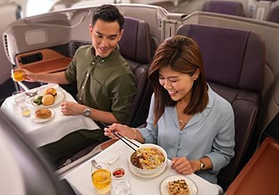 CNN.co.jp : エアバスA380で食事楽しむ、機内レストランに予約殺到 シンガポール航空
