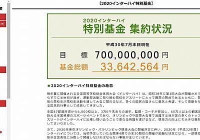 東京五輪のあおりで「2020インターハイ」が大ピンチ 全国各地の分散開催となり中止の危機も (1/2) - ねとらぼ