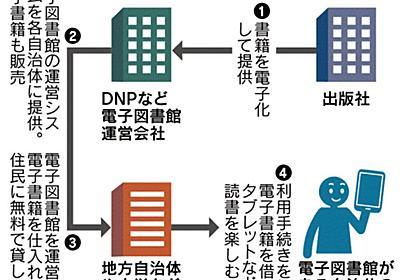 電子図書館 広がる 大日本印刷、100カ所導入狙う/紀伊国屋書店、学校にシステム :日本経済新聞