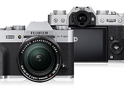 高性能×レトロ感。富士フィルムのミラーレス一眼カメラFUJIFILM X-T20。 - あーべんのカメラと戯言
