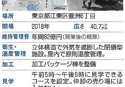 豊洲市場、2時間並んでも駐車場着かず…使い勝手に懸念:朝日新聞デジタル