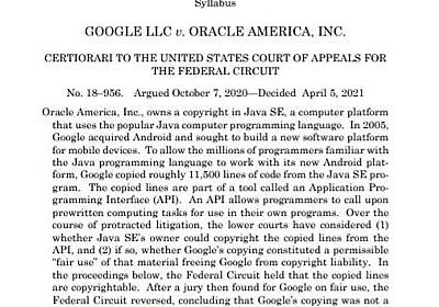 GoogleがOracleとの10年越しの裁判で勝訴 最高裁はJava著作権侵害せずの判断 - ITmedia NEWS