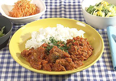 さば缶とトマト缶のカレー キユーピー3分クッキング 日本テレビ