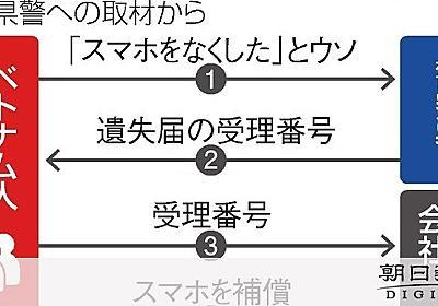 「紛失補償」を悪用、狙われた高額iPhone FBで手口広がる:朝日新聞デジタル