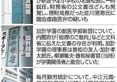 官僚への支配強める長期政権 森友・加計と似た「忖度」:朝日新聞デジタル