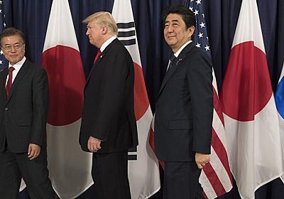 トランプ氏不満、時間取られたくない-文大統領が日韓への「関与」要請 - Bloomberg