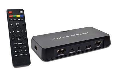 PCレスでHDMI映像を1080p録画、TVで再生できるJTT「キャプ録 Pro S」 - AV Watch