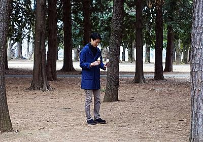 両手にソフトクリームを持って森に入ると不安になる :: デイリーポータルZ
