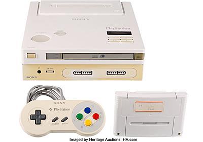 任天堂とソニーがコラボした幻のゲーム機「Nintendo PlayStation」がオークションに出品される予定 - GIGAZINE