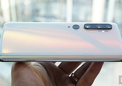 Xiaomi、108MPカメラのCC9 Pro発表。背面にカメラを5つ搭載、前面カメラは32MP - Engadget 日本版