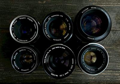 なぜオールドレンズなのか - カメラが欲しい、レンズが欲しい、あれもこれも欲しい