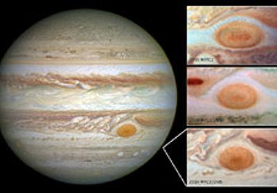 急速に縮む木星の大赤斑