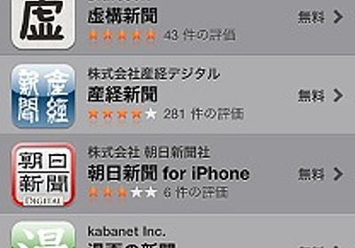 本紙アプリが全国紙抜き首位 業界には困惑の声