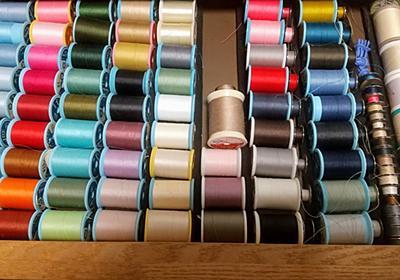 ミシン糸の収納とパターンの収納方法を見直しました。 - 手作りとシンプル生活