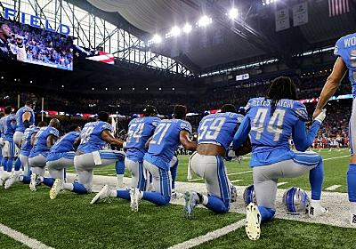 CNN.co.jp : トランプ発言に全米のNFL選手が抗議、国歌斉唱に起立せず