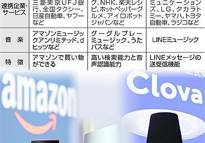 アマゾン、競合LINEのAIスピーカー販売禁止に 理由示さず…独禁法違反の可能性(1/2ページ) - 産経ニュース
