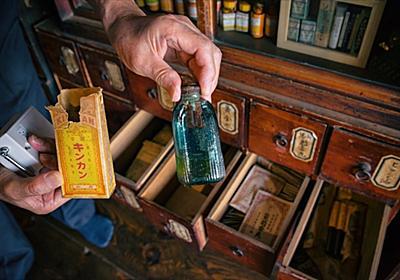 「これは行かないと」「レベル高い」 秋田県で約300年続いた薬局が古い薬瓶や医療用品などを展示し話題に - ねとらぼ