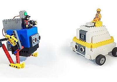 ブロックを組み立ててロボットを作ろう——Arduino互換の電子ブロック「Leguino」 | fabcross