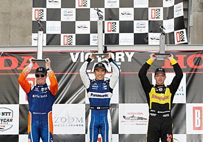 佐藤琢磨、日本人初のインディカーでポール・トゥ・ウィンを達成 【 F1-Gate.com 】
