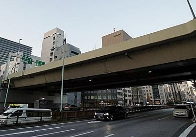 現実味帯びる銀座横断トンネル、首都高新ルートで | 日経 xTECH(クロステック)