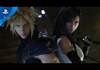『FINAL FANTASY VII REMAKE』 for E3 2019