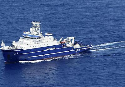 中国船、沖ノ鳥島沖EEZで海洋調査 海保が中止要求 - 産経ニュース