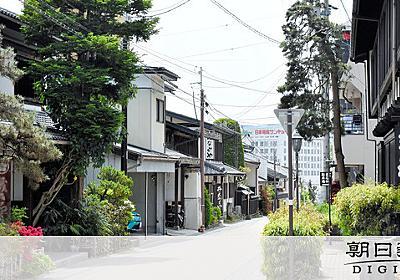 長野の温泉街、バイパス計画に揺れる 源泉への影響懸念:朝日新聞デジタル