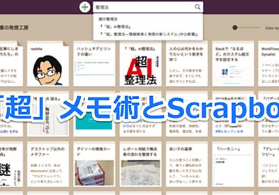 「超」メモ術とScrapbox   シゴタノ!