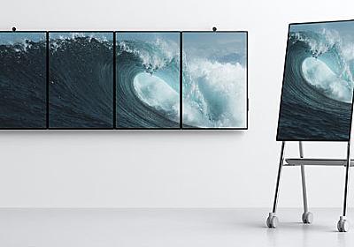 Microsoft、50.5インチ画面端末「Surface Hub 2」を来年発売 - ITmedia NEWS