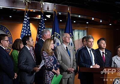 米下院、トランプ氏「人種差別発言」で非難決議案可決 写真3枚 国際ニュース:AFPBB News